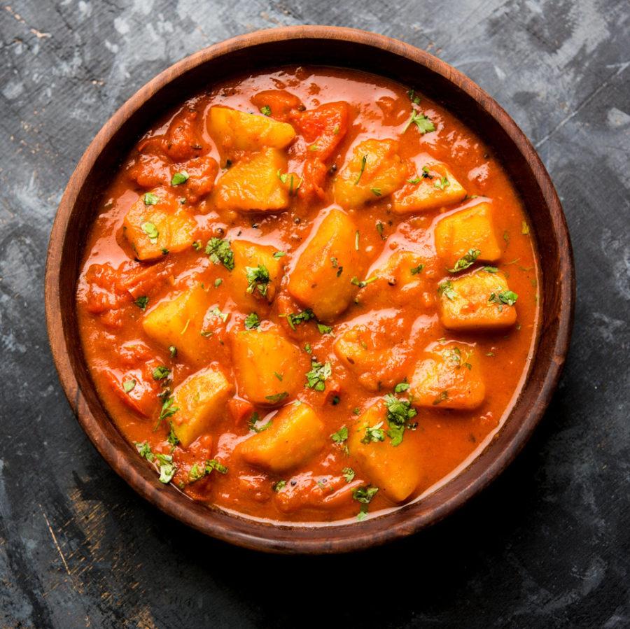 Kartoffel-Curry nach Kaschmir-Art